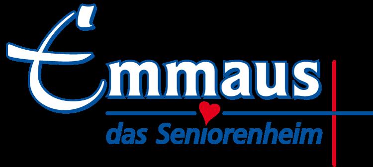 Das Logo von Emmaus, das Seniorenheim.