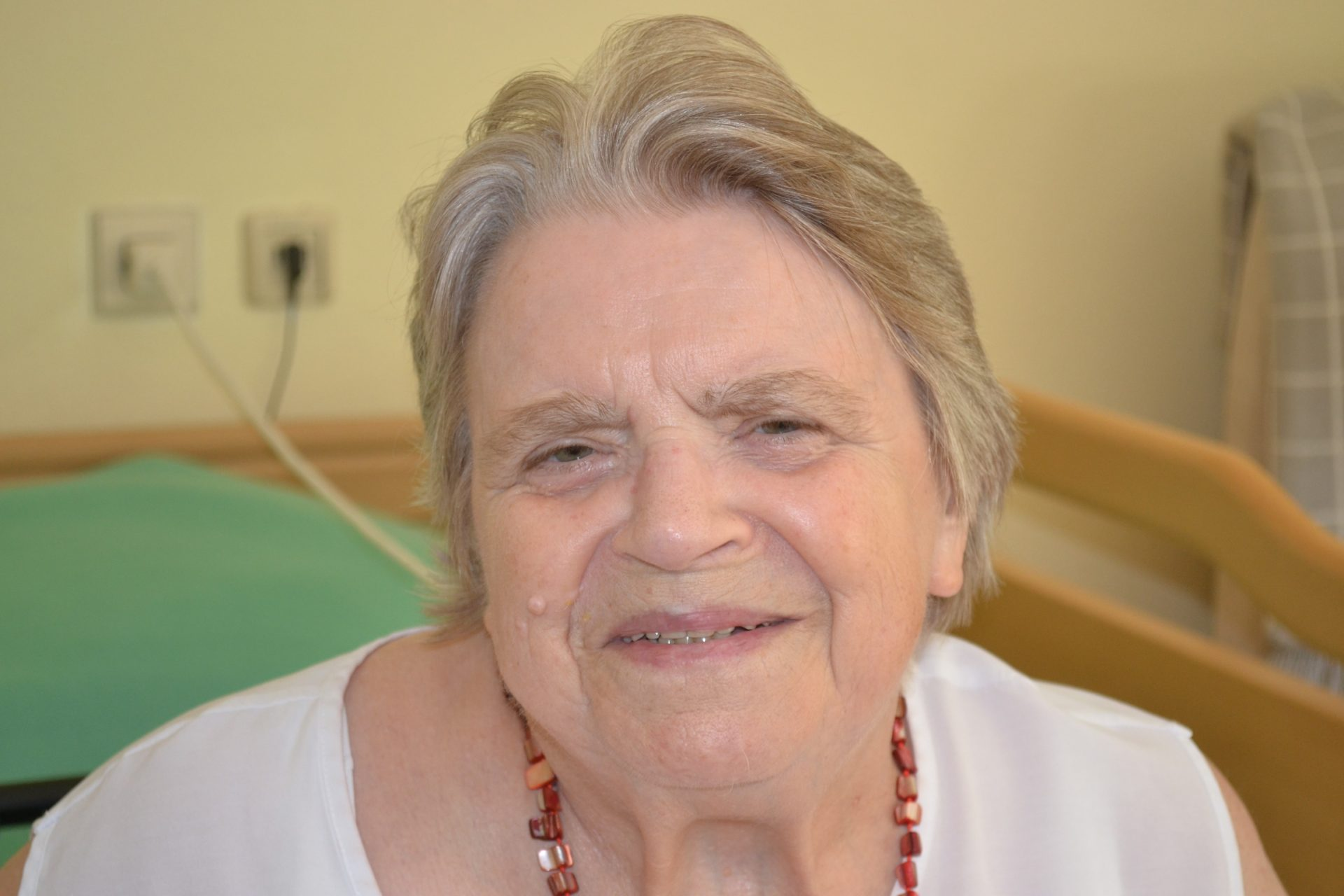 Mitglied im Bewohnerbeirat des Seniorenheims Emmaus in Friesenheim-Oberweier, Stand: September 2018 – Helga Bockstahler