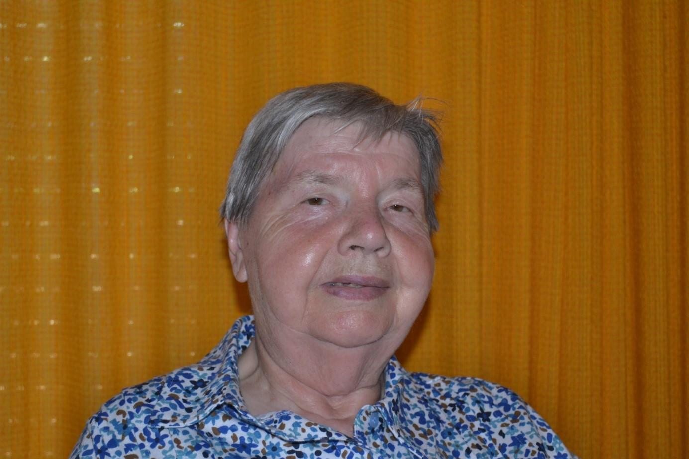 Mitglied im Bewohnerbeirat des Seniorenheims Emmaus in Friesenheim-Oberweier, Stand: September 2018 – Monika Fleig