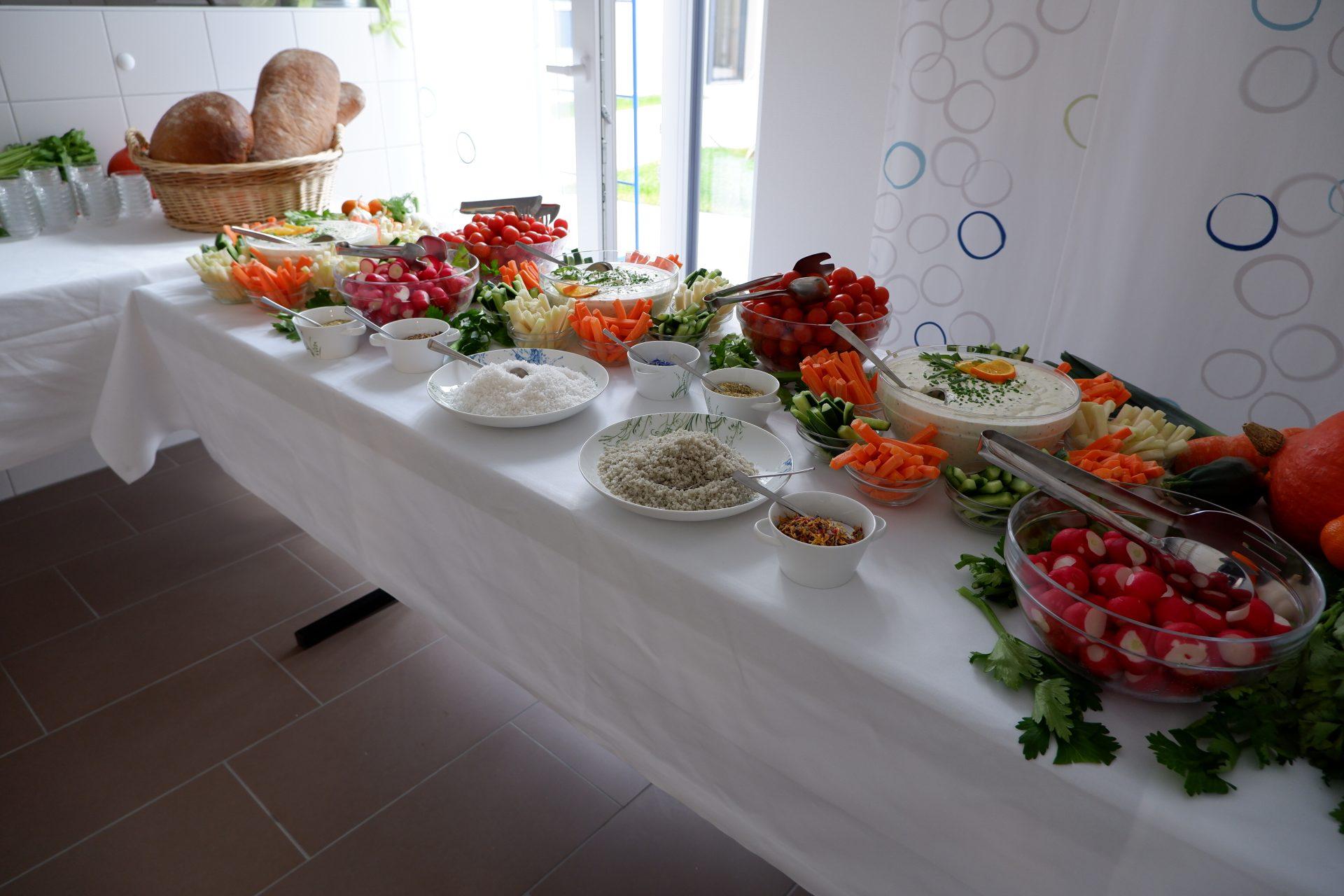 Frisches Essen nach den Prinzipien Kneipp